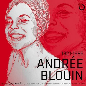 Andrée Blouin (1921-1986), a feminist, a pan-Africanist and an anti-colonial activist.