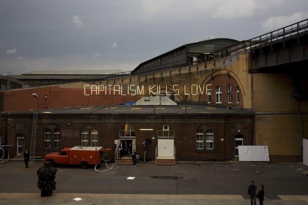 | Capitalism Kills Love Claire Fontaine 2008 | MR Online