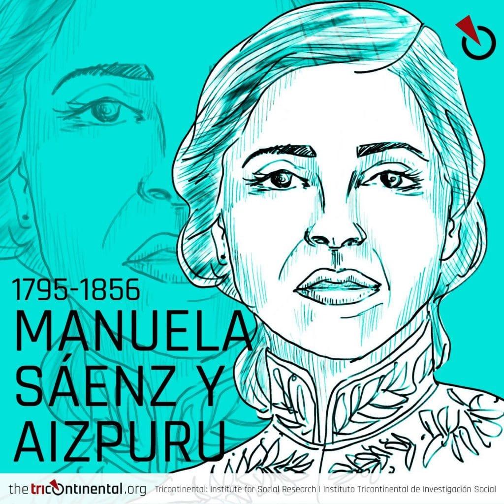 Manuela Sáenz y Aizpuru (1795-1856)