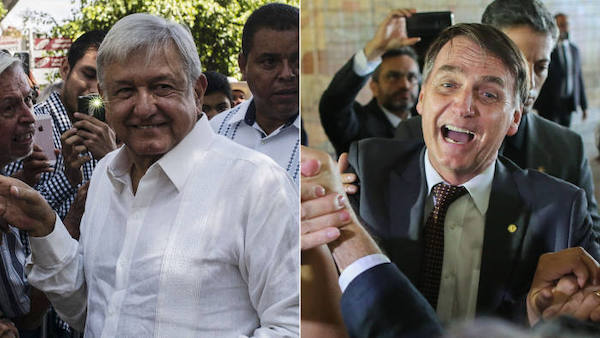 Political commentators see AMLO as a bigger threat than Bolsonaro