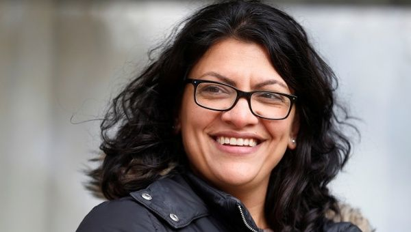 | Rashida Tlaib congresswomanelect from Michigan could upend aspects of US support for Israels occupation of Palestine | Photo Reuters | MR Online