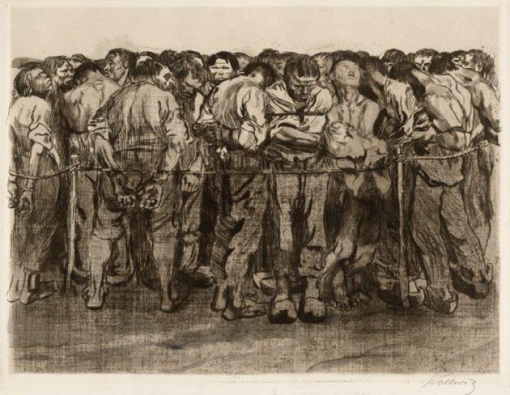Unemployment, Käthe Kollwitz, 1909.