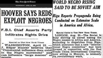 Negro Rising. (Photo Credit: NY Times)