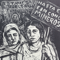 Elena Huerta Muzquiz (1908-1997), one of Mexico's great Communist artists.
