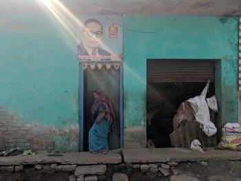 Near Saibabad area, a working class neighborhood in India's National Capital Region