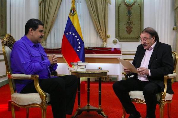 President Maduro discussed the Venezuelan opposition, drone attacks, his new term, coup d'etats, the Constituent Assembly and smear campaigns in an interview with renowned journalist Ignacio Ramonet.Photo: Venezolana de televisión Photo: Granma