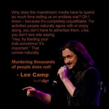 Lee Camp (Photo: TruthDig)