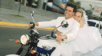 Popular Will founder Leopoldo Lopez cruising with his wife, Lilian Tintori
