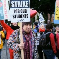 Teachers-Strike, Los Angeles, USA - 16 Jan 2019