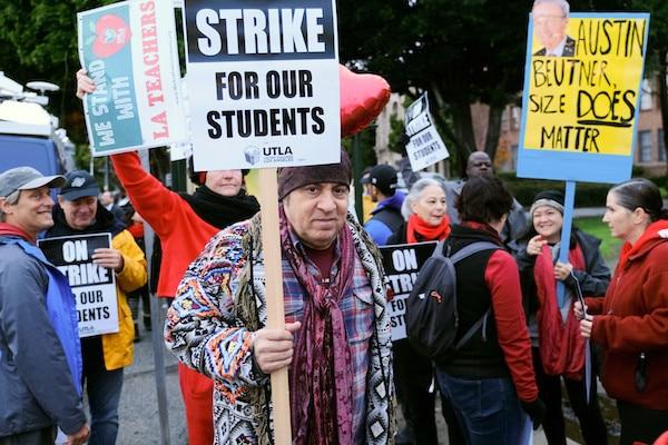 Teachers-Strike, Los Angeles, USA - 16 Jan 2019