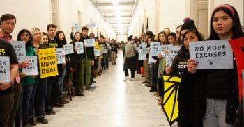| Sunrise protestors in Congress Photo skenigsbergTwitter | MR Online
