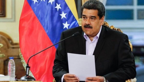 Venezuelan President Nicolas Maduro called the U.S. decision to sanction US$7 billion in assets from the country's oil sector a robbery. | Photo- Presidencia