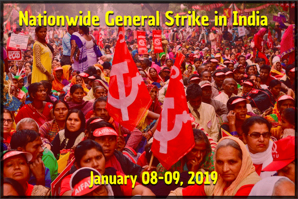 Why are 200 million workers on strike in India?