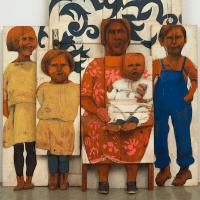 Marisol Escobar, The Family, 1962.