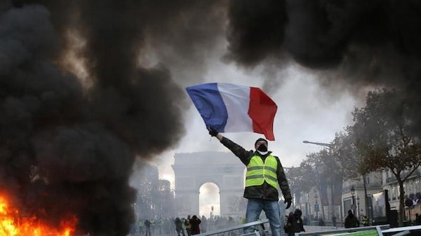 Protesters (France - Yellow Vest Movement)