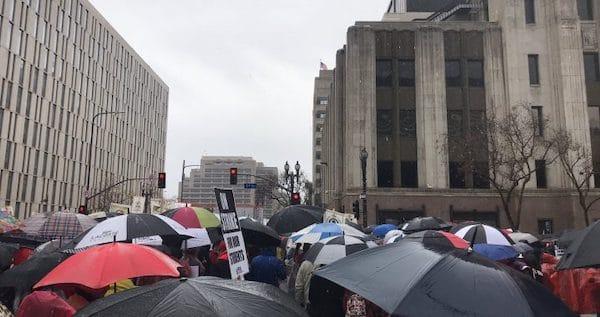 Scenes from the UTLA Teachers' Strike