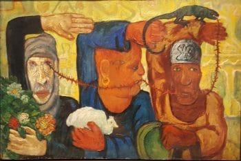 'Civil Society' - Abdel Hadi El-Gazzar, Mahassib al-Sayyida, 1950.