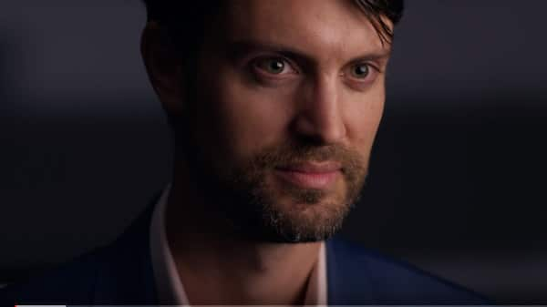 Facebook executive Nathaniel Gleicher is shown during a December 2018 interview with PBS. Screenshot | YouTube