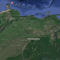 Hot spots in Venezuela