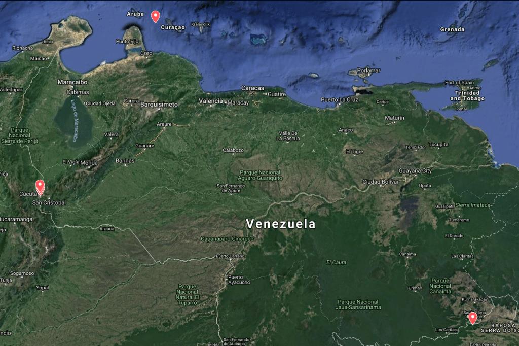   Hot spots in Venezuela   MR Online