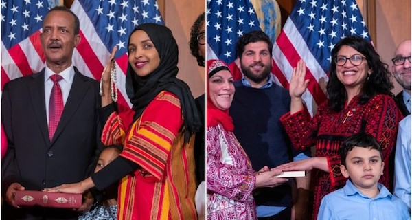 US' first 2 Muslim congresswomen Ilhan Omar, Rashida Tlaib take ... Daily Sabah