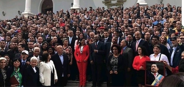 | In Venezuela White Supremacy Is a Key Driver of the Coup Above Socialist Party lawmakers | MR Online