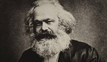 Marx recognised that value is created in production and realised in the market. Credit- Wikimedia Commons