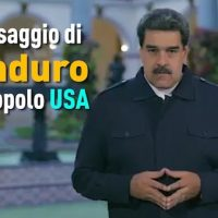 President Nicolás Maduro's Message to the American People