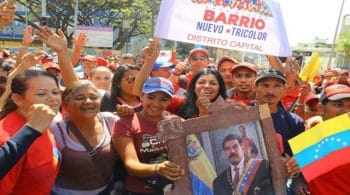 Supporters of Venezuelan President Nicolas Maduro (photo- TeleSur)