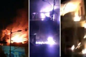 | The Robert Serra House a cultural center in La Pastora in Caracas was burnt down ion January 22 Venezuelanalysis | MR Online