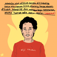Ivana Kurniawati, co-founder of Bintang Kecil, Wiji Thukul