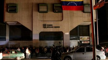 March 7, Bellas Artes Metro station. Some people tried unsuccessfully to agitate against President Nicolas Maduro