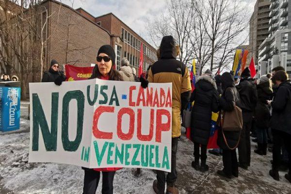 """""""No US-Canada Coup in Venezuela"""""""