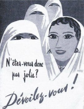 A colonial poster from French-ruled Algeria