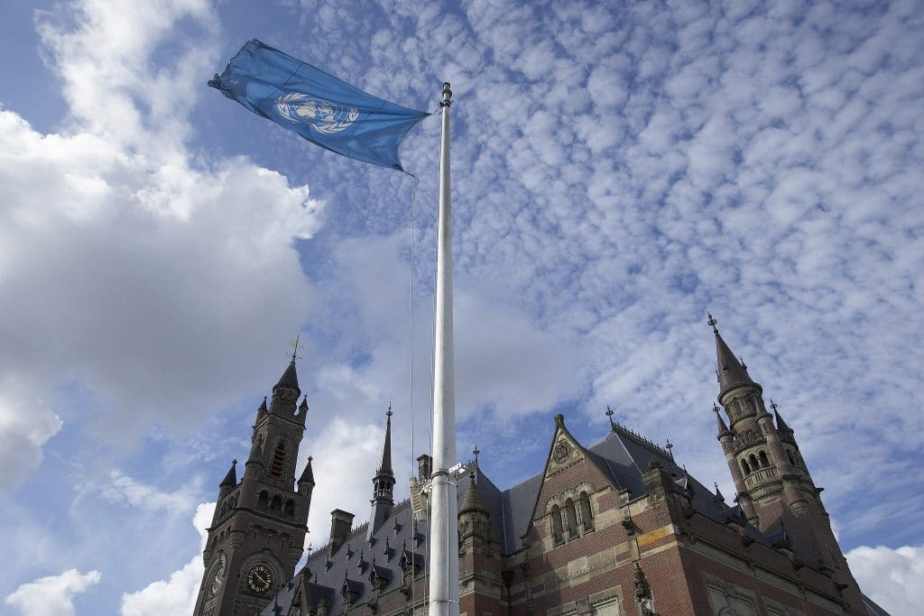 | The Peace Palace seat of the International Court of Justice at The Hague Netherlands | MR Online