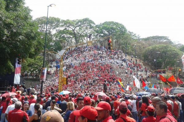 MAY DAY 2018 in Caracas, Venezuela