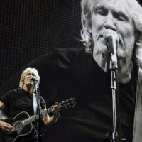 """Roger Waters performs during his """"Us + Them"""" tour stop at Staples Center on Tuesday, June 20, 2017, in Los Angeles. (Photo by Chris Pizzello/Invision/AP)"""