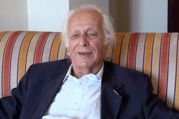 "Samir Amin being interviewed in ""The Organic Intellectual"""