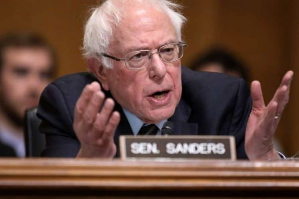 Senator Bernie Sanders (I-Vt.) during a hearing on Capitol Hill, January 16, 2019 in Washington, DC. (Photo: Chip Somodevilla / Getty)