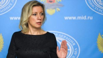 Spokesperson of the Ministry of Foreign Affairs of the Russian Federation, María Zajárova