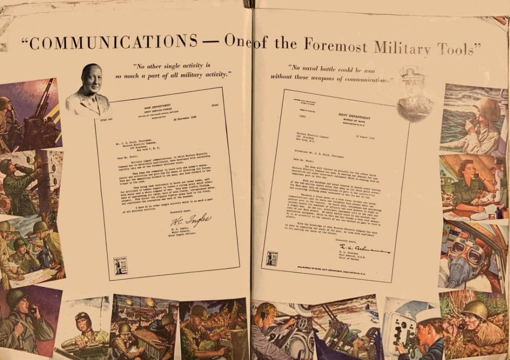 """Communications—One of the Foremost Military Tools"""