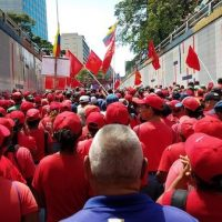 A massive pro-government rally on March 16, Caracas. © Eva Bartlett
