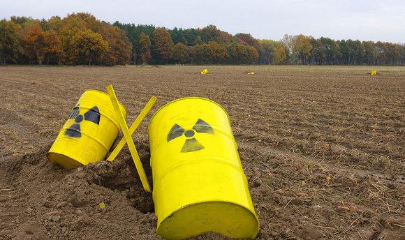 Toxic barrels.