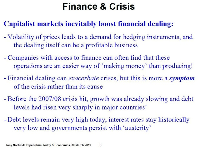 Greenwich PPT: Finance & Crisis