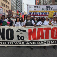 Hundreds join anti-NATO march through U.S. capital in revival of broad antiwar movement