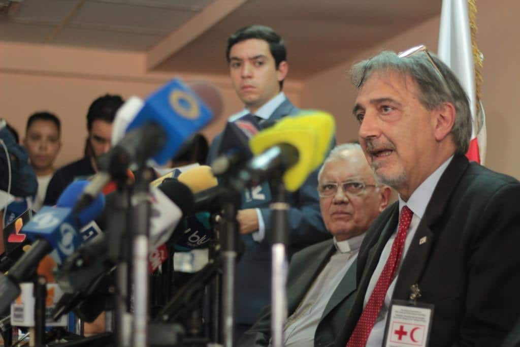 | International Federation of the Red Cross speaking about humanitarian aid to Venezuela | MR Online