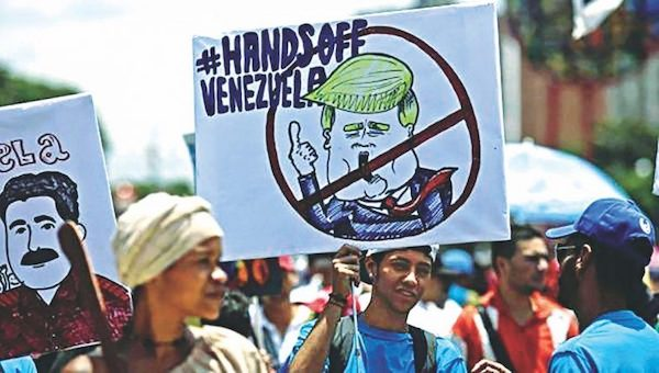 Americas War On Venezuela. (Photo Credit: Orinoco Tribune)