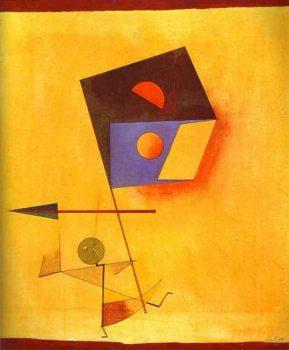 Paul Klee, Conquistador, 1930.
