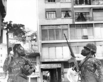Francisco 'Frasso' Solórzano, Caracazo, 1989.