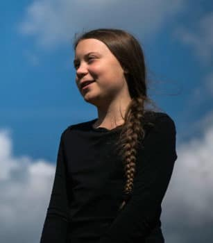 "Greta Thunberg, the 16-year-old Swedish climate activist, is interviewed ahead of the ""Global Strike For Future"" movement on a global day of student protests aiming to spark world leaders into action on climate change in Stockholm, Sweden on May 24, 2019. Jonathan Nackstrand—AFP/Getty Images"